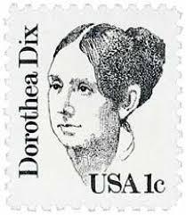 Postage stamp of Dorothea Dix
