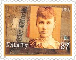 Postage stamp of Nellie Bly