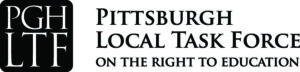Logo for Pittsburgh Local Task Force on the Right to Education