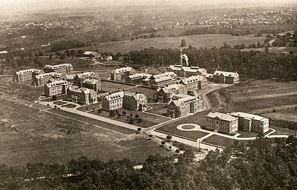 Pennhurst aerial view