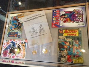 Archie, Action Comics, Superman, and other Comics featuring People and Superheroes with Disabilities at Museum of DisAbility History