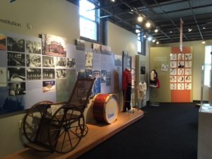 Image of various exhibits at Museum