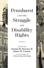 Photo of book cover, Pennhurst and the Struggle for Disability Rights